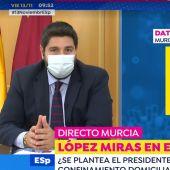 López Miras en Espejo Público