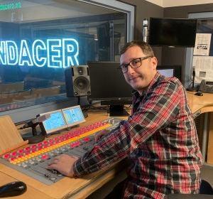 Sergio Monforte, técnico de sonido de Onda Cero