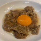 Setas con huevo