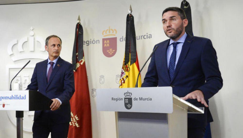 Antonio Luengo y Javier Celdrán