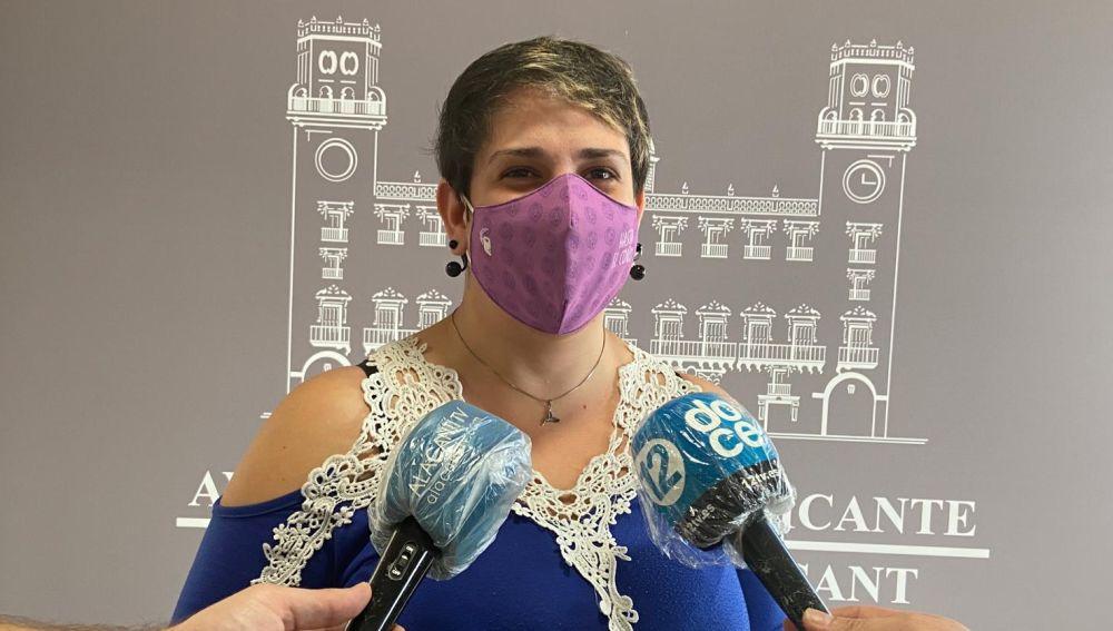 Vanessa Romero, concejala de Unidas Podemos