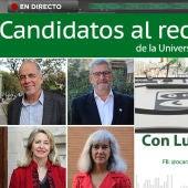 Entrevista a los candidatos al rectorado de la Universidad de Zaragoza