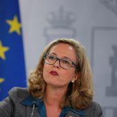 La vicepresidenta tercera del Gobierno, Nadia Calviño