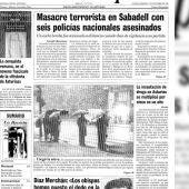 Atentado Sabadell para portada