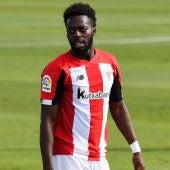 El jugador del Athletic Club de Bilbao Inaki Williams
