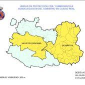 Nivel de alerta Amarilla en la comarca por densa niebla