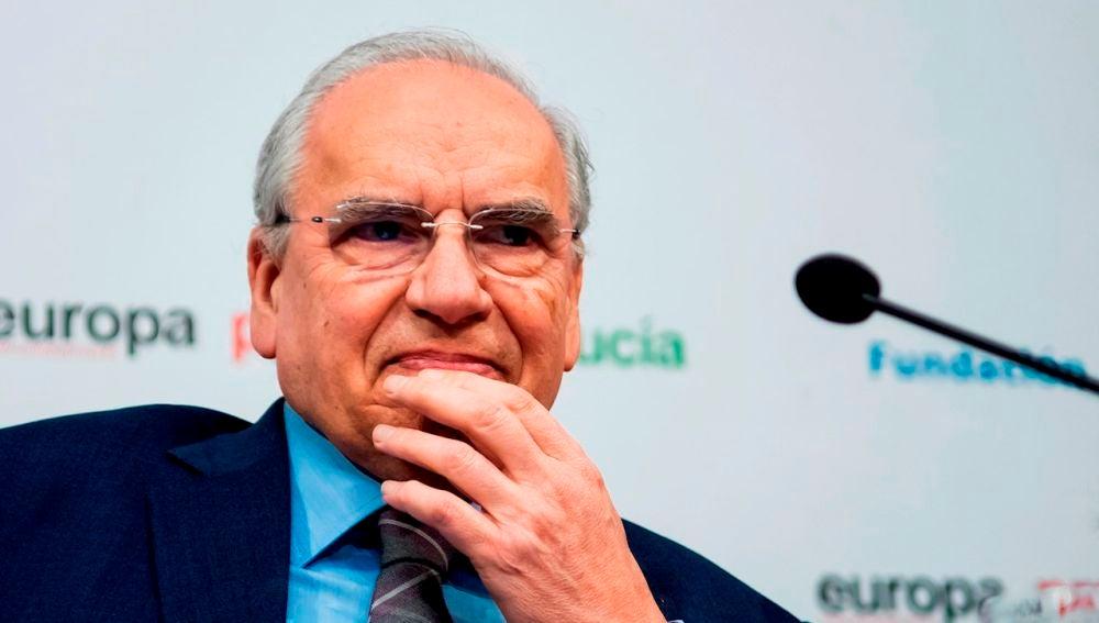 El exvicepresidente del Gobierno, Alfonso Guerra