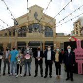 Presentación de la campaña en la Plaza del 25 de mayo de Alicante