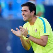 Andoni Iraola, entrenador del Rayo Vallecano.