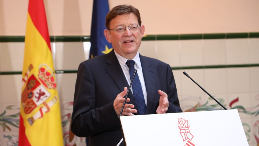 Ximo Puig, presidente de la Generalitat.