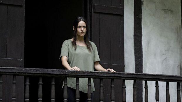La actriz Itziar Ituño, en una imagen promocional de la película 'Campanadas a muerto'