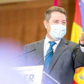 García-Page durante su intervención en Valdepeñas