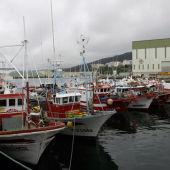 Pesqueros puerto de Burela