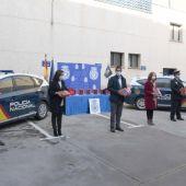 La Policía Nacional dispone de desfibriladores en sus vehículos
