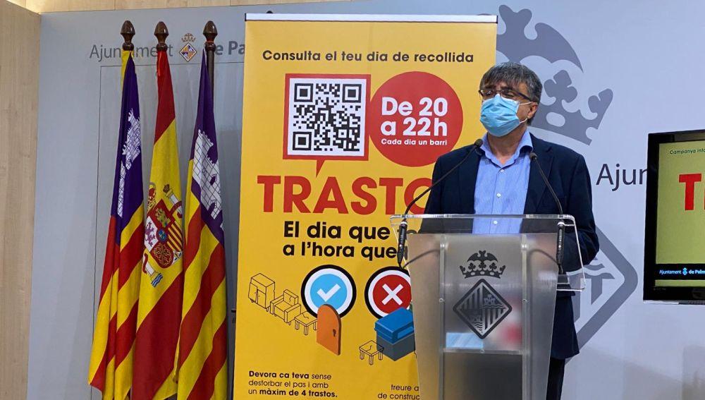 Cort sancionará con hasta 3.000 euros el uso incorrecto del nuevo servicio de recogida de trastos