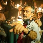El director Javier Fesser, durante el rodaje de su película 'Historias lamentables'