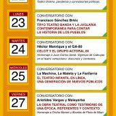 Programación Festival Iberoamericano Contemporáneo de Almagro