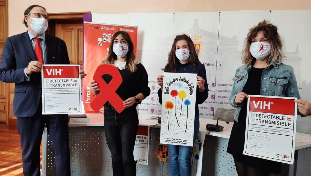 Ayuntamiento de Palencia colabora con el Comité Antisida en la difusión de la campaña de sensibilización #Hoymásquenunca