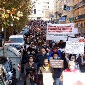 Más de mil autónomos protestan en Salamanca contra las restricciones