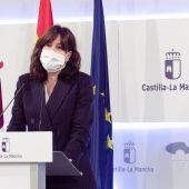 Blanca Fernández, portavoz del Gobierno de C-LM