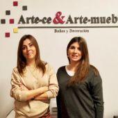 Mónica e Ylenia Perez de ArteCe y ArteMueble