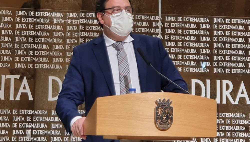 José María Vergeles, consejero de sanidad.