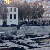 El palacio de San Esteban se refrigera con agua de un pozo ilegal