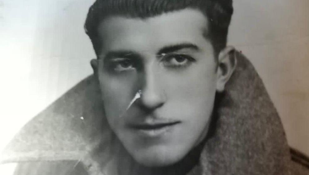 Félix Urrizburu, en una imagen de joven