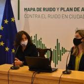 Zamora y Boadella durante la presentación del Mapa de Ruido de Ciudad Real