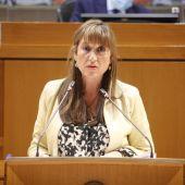 Sira Repollés, consejera de Sanidad del Gobierno de Aragón