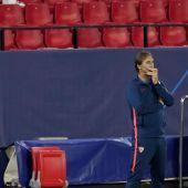 El entrenador del Real Madrid, Julen Lopetegui.