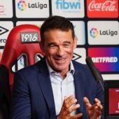 El entrenador del Mallorca, Luis García Plaza.