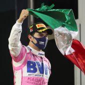 'Checo' Pérez gana en Sakhir, el primer Gran Premio de su carrera