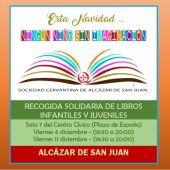 La Sociedad Cervantina apuesta porque todos los niños tengan acceso a la literatura