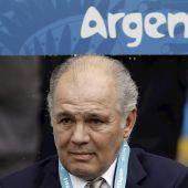 Alejandro Sabella, técnico subcampeón del mundo con Argentina
