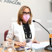 Consejera de Presidencia del Gobierno de Aragón, Mayte Pérez