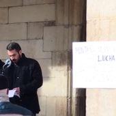 VÍDEO: Concentración en Cervera de Pisuerga contra el cierre de la oficina de la Seguridad Social de la localidad.