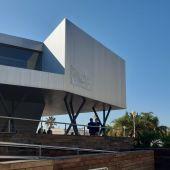 Oficina municipal de información turística en el Paseo del Puerto de Alicante