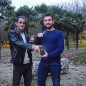 Juan Jesús Cembranos y David Vicente, creadores de LifeSlide App