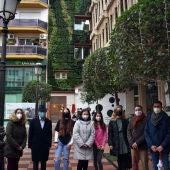 Pilar Zamora ha inaugurado el Jardín Vertical del Ayuntamiento