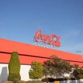 La fachada de Coca-Cola.