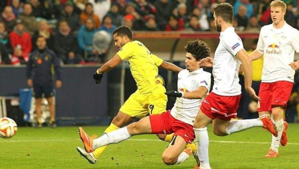 Imagen de un precedente entre Villarreal y  Salzburgo