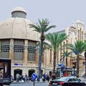 """Mercado Central de Alicante en la Avenida de Alfonso X """"el Sabio"""""""