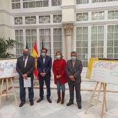 Acto de presentación del anteproyecto en la Delegación del Gobierno de España en Andalucía.