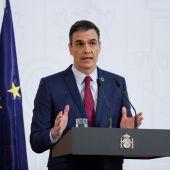 Pedro Sánchez hace balance del primer año del Gobierno de coalición