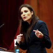 La hasta ahora líder de Ciudadanos en el Parlament, Lorena Roldán