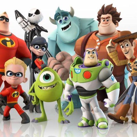Fotomontaje de los personajes míticos de Pixar, pertenecientes a varias de las mejores películas del estudio de animación