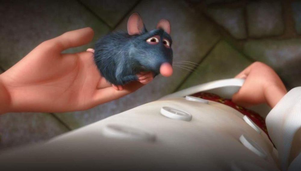 Remy, la rata protagonista de 'Ratatouille', nos contagió la fiebre por la alta cocina desde la gran pantalla