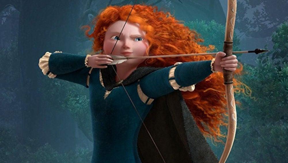 Mérida, la princesa pelirroja de la película 'Brave (Indomable)', fue el gran personaje de animación de 2012