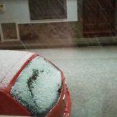 Esta pasada madrugada se pudo ver nieve en localidades de La Mancha